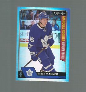 16/17 O PEE CHEE MITCH MARNER #672 RAINBOW VARIETY MARQUEE ROOKIE NRMT