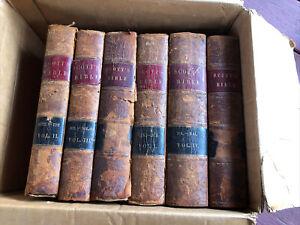 Thomas Scott 1851 The Holy Bible 6 Volumes