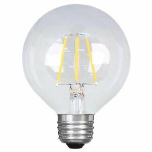 Feit Electric G25 enhance LED Bulb. 25 Watt Replacement for Vanity Lights