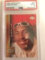 1996 Upper Deck Kobe Bryant Rookie #58 PSA 9 -- Lakers HOF