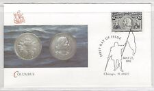 #2624a-2629 COLUMBUS 500th ANNIVERSARY 1992 FLEETWOOD First Day Covers Set of 13
