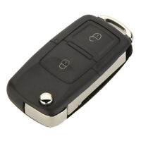 Replacement 2 Button Keyless Entry Remote Flip Folding Car Key Fob Shell CasF2F2