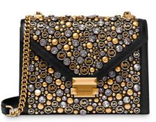 🌺🌹Michael Kors Whitney Large Embellished Convertible Shoulder Bag Original Pkg