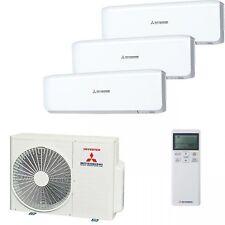 MITSUBISHI Aire Acondicionado Split 3x SRK 20 + SCM50 7,0kw ENFRIADO / 7,5kw