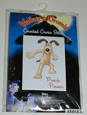 Anchor Wallace & Gromit POOCH POWER Counted Cross Stitch KIT