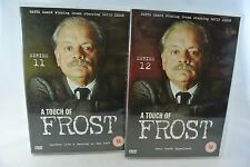 A Touch of Frost Series 11 & 12, REGION 2 DISCS
