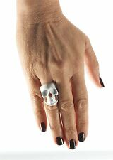 Skeleton Skull Ring, Fancy Dress Party Costume Accessory