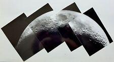 Space Nasa - Lune Moon - Montage Photographique - Tirages argentiques d'époque -