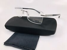 ✴New Dolce Gabbana DG1260 04 Black  BASALTO COLLECTION Eyeglasses 53mm with Case