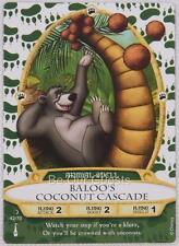 Disney Sorcerers the Magic Kingdom Card 42 Baloo's Coconut Cascade New