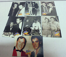 7x Elvis Presley CELEBRITIES-1992 The River Group Elvis Collection Trading Cards