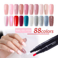 LEMOOC 5ml UV Gel Nails Smalto Gel Semipermanente Soak Off  Pen Designs