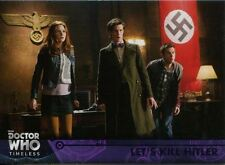 Doctor Who Timeless Purple Parallel [##/50] Base Card #80 Let's Kill Hitler