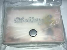 Tales of Destiny 2 acrylic card case with screenprinted logo Playstation RPG PS2