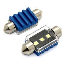 2x Lampen Soffitten Xenon Weiß 31mm mit 3x3535-SAMSUNG-SMD 6000K Canbus 3W