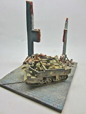 1/35 Scale  Tram stop Ruin  Ruined Building and Diorama Base military model kit