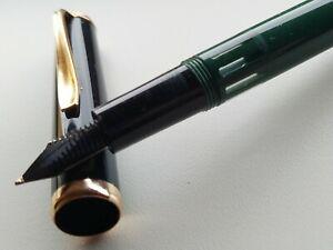 Reform 4000 Green Black cap 14K Gold Flex Nib