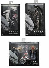 Neca Alien Covenant neomorph & Xenomorph & Pack accessoires Action Figures Bundle