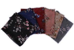 New Floral Scarf Hijab Viscose Shawl Muslim Hijab Wrap Scarves Large Shawls Soft