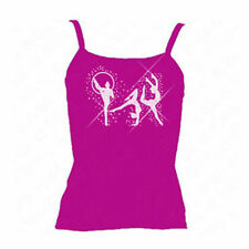 Girls' Strap Vest T-Shirts & Tops (2-16 Years)