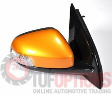 Ford FG & FGX Falcon RH Door Mirror With Blinker VICTORY GOLD 05/08-10/16