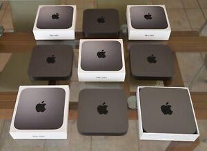 Apple Mac mini 2018 3.6 i3, 3.0 i5, or 3.2 i7 + 8-64GB RAM, 128GB thru 1TB SSD
