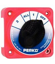 Perko Compact 4 Position Battery Selector Switch Disconnect 1-2-All 8511DP