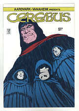 Cerebus the Aardvark #17 NM Autographed by Dave Sim - Super Bright