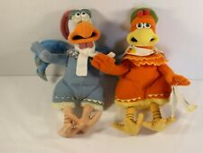 Chicken Run Plush Chickens Dreamworks Toy Stuffed Animals New W/ Tags Lot of 2