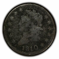 1810 1c Classic Head Large Cent SKU-Y2278