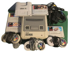 Original SNES console bundle