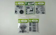 Studio G Clear Stamps Variety packs set of 5