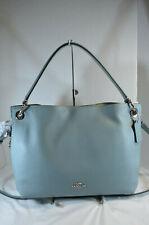 NWT COACH 24947 Clarkson Blue Sage Leather Hobo Bag