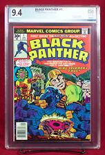 BLACK PANTHER #1 (Marvel 1977) PGX 9.4 NM Near Mint T'CHALLA WAKANDA!!! +CGC!!!