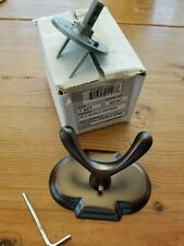 Jvj Hardware Old World Bronze Double Bath Robe Coat Wall Hanger Hook 25107 Nib