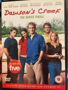 Dawson's Creek : The Series Finale - Extended Cut region 2 DVD (drama tv show)