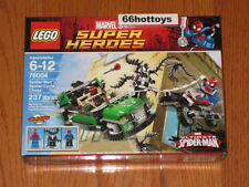LEGO Marvel Super Heroes 76004 Spider-Man Spider-Cycle Chase NEW