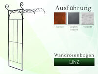 Wandrosenbogen LINZ 1,60m Rankhilfe Metall Gartenbogen La Pergola Rosenbogen