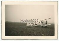 Foto Focke Wulf Fw 44 Doppeldecker Flugzeug BB+JY startet vom Feldflugplatz ...