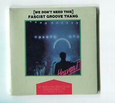 Heaven 17 SEALED!!! 3-inch-CD-Maxi Fascist Groove Thang 1988 Full Length Mix 12""