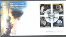 Guernsey-50th Anniv Moon Landing First day Cover 2019