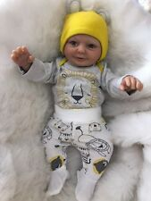 "CHERISH DOLLS REBORN DOLL BABY BOY BILLY REALISTIC 20"" REAL LIFELIKE CHILDS EYES"