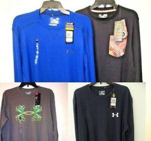 NWT Under Armour Performance Loose Fit Long Sleeve L XL 2XL Black Blue Gray