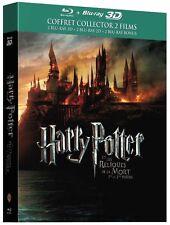 HARRY POTTER ET LES RELIQUES DE LA MORT Parties 1 & 2 - Blu ray 3D + Bluray neuf