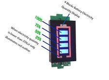 1S Lithium Akku Kapazität Anzeige Modul 4.2V Tester Li-Po Li-Ion