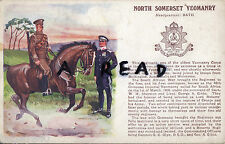 WW1 Military Art History & Traditions North Somerset Yeomanry Gale & Polden