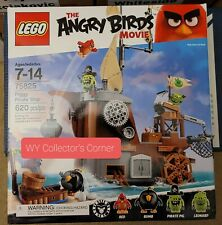 Retired LEGO Angry Birds Movie 75825 Piggy Pirate Ship New & Factory Seal