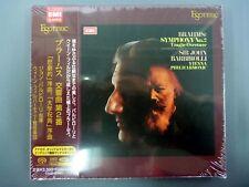 ESOTERIC SACD/CD ESSE-90047:Brahms/Symphony No.2 in D Major, Op.73 Op.81 Op.80