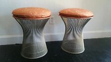 WOW! authentic WARREN PLATNER KNOLL stools mcm mid-century modern