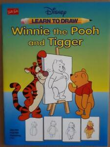 Walter Foster LEARN TO DRAW Disney's WINNIE THE POOH & TIGGER
